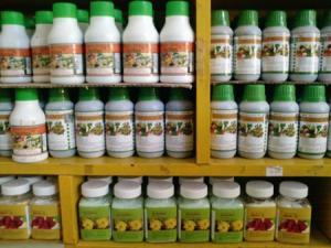 Các dạng phân bón trên thị trường: phân bón lá dạng lỏng