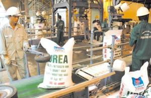 Thị trường phân bón trong nước: phân ure Phú Mỹ